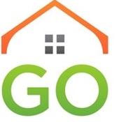 GO Mortgage logo