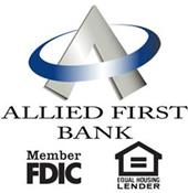 Allied First Bank logo