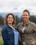 Photo of Hilary Saunders & Kristie Knight