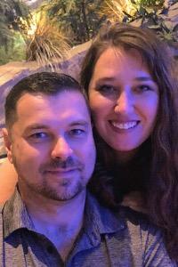 Photo of Jacob and Stephanie Meeks