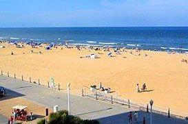 Virginia Beach Located In Southeastern S On The Atlantic Coast Is Largest City State Once Railroads Covered 18 Miles Between It